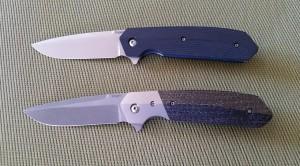 Bottom knife is award winning Mid-size 4F